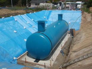耐震性貯水槽事業部のイメージ